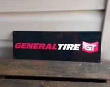 GENERAL TIRE Metal Sign ADVERTISING Garage Shop MECHANIC 4x12 50102
