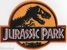 Jurassic Park ecusson brode logo uniforme vu dans Jurassic park uniform patch
