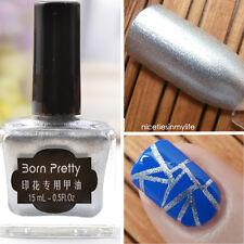 15ml Born Pretty Nail Art Stamp Stamping Polish Bright Color Nail Polish DIY 2#
