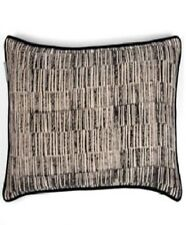 Black and Grey Large Square cushion cover RRP $88.95 Oz Seller Including Insert