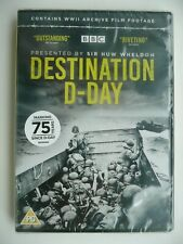 Destination D-Day [DVD, 2019] BBC Documentary, Sir Huw Wheldon, New and Sealed