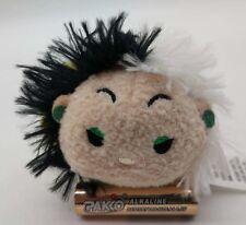 """Disney Store 101 Dalmatians Cruella de Vil (Coat)Tsum Tsum Mini 3 ½"""" Plush Doll"""
