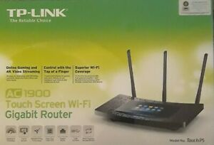 TP-LINK Ac1900 Wireless Wi-fi Gigabit Router With Touch Screen NEW IN BOX