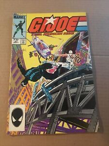 MARVEL COMICS: G.I.JOE  A REAL AMERICAN HERO!  #27. W7.