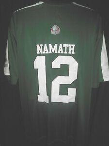 New York Jets Joe Namath #12 Men's Majestic Big & Tall Hall of Fame Jersey