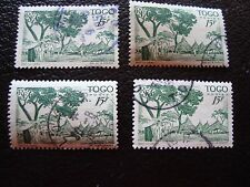 TOGO - timbre yvert et tellier n° 251 x4 obl (A33) stamp