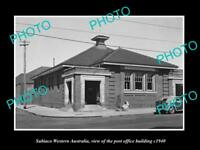 OLD LARGE HISTORIC PHOTO OF SUBIACO WESTERN AUSTRALIA, THE POST OFFICE c1940