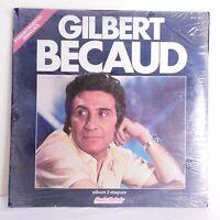"2 x 33T Gilbert BECAUD Vinyles LP 12"" PILOU PILOU -PLEIN SOLEIL -LIBERACAO NEUF"