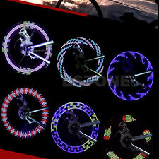 14 LED Motorcycle Bicycle Cycling Bike Wheel Signal Tire Spoke Light 30 Changes