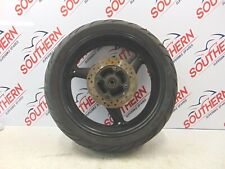 HONDA CB 600 HORNET 2002 REAR WHEEL AND TYRE