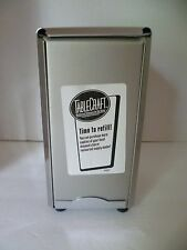 TABLECRAFT Vertical Napkin Holder Dispenser Steel Table Restaurant / Home