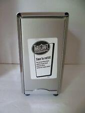 TABLECRAFT Vertical Napkin Holder Dispenser Steel Table Restaurant / Home
