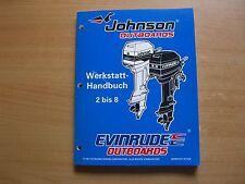 Werkstatthandbuch Johnson Evinrude Außenborder EC 1998 2 2.3 3.3 4 5 6 8 PS
