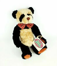"1995 COTTAGE COLLECTIBLES BY GANZ ""PADDY"" JOINTED TEDDY BEAR PANDA 11'' NEW TAGS"