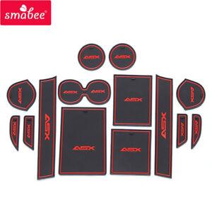 for Mitsubishi ASX 2019 2020 Anti-Slip Gate Slot Cup Mat Accessories Pad Coaster