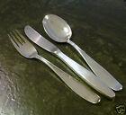 Besteck 6 Personen BSF Iris 90er Silber versilbert 18 Teile Silberbesteck
