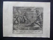 A. TEMPESTA - Glaucus & Scylla - Metamorphoseon Sive Transformationum, 1606.