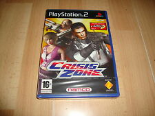 CRISIS ZONE FROM THE CREATORS OF TIME CRISIS 3 BY NAMCO PS2 NEW FACTORY SEALED