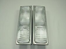 PARKING SIGNAL MARKER LIGHTS PAIR 90-98 Chevy GMC Truck C/K SILVERADO SIERRA