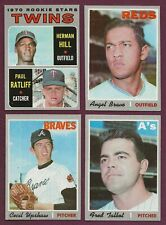 1970 Topps $.99 EACH You Pick Complete Your Set FREE Shipping EX