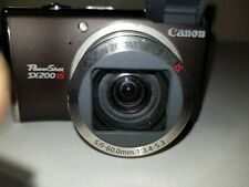 Canon PowerShot SX200IS 12.1MP Digital Camera 12x Zoom/with new battery&charger