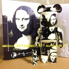 Bearbrick Medicom 2019 Andy Warhol ~ Double Mona Lisa 100% 400% Be@rbrick