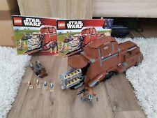Lego Star Wars 7662-trade Federation MTT-con instrucciones-Top estado