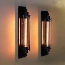 Stylehome® Retro Wandleuchte Edison Metall Vintage Industrie Wandlampe RL-W007