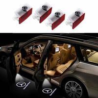 4 Piece Mercedes Logo Car Door LED Welcome Projector Lights