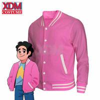 Steven Universe cosplay Men Baseball uniform Unisex Coat Shirt Halloween Costume