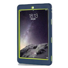 Shockproof  Blue Hard Stand Tablet Case Cover For Apple iPad 9.7 2017 5th Gen