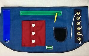 Posey 7410 Happy Hands Activity Overlay for Wheelchairs ADL Aid Rehab Therapy