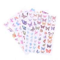 Butterfly Diary Scrapbook Decoration DIY Stickers Toys School Supply Gift  LTAU