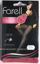 Collant ROSE fushia Taille 3 / L - 50 D - pour femme FARELL lycra sexy #C60