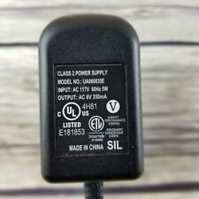 Intertek Class 2 Power Supply UA060035E Power Cord AC 117V 60hz 5W 6V 350 mA