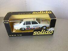 VINTAGE#SOLIDO VINTAGE BMW 530  Rare   1:43 Scale #NIB