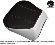 WHITE & BLACK VINYL CUSTOM FITS HARLEY BRAKEOUT 13-16 SUNDOWNER REAR SEAT COVER