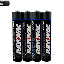 4 x Rayovac AAAA batteries Alkaline 1.5V MINI LR8D425 MN2500 Maximum Plus Jabra