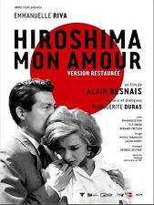 Affiche 40x60cm HIROSHIMA, MON AMOUR 1959 Alain Resnais, Emmanuelle Riva R2013