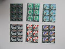 GB QEII 2010 Medical Breakthroughs Set of 6 in Cylinder Blocks of 6 U/M Cat £57+