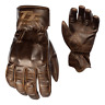 RST IOM TT Hillberry Classic Leather Riding Gloves - CE APPROVED - Brown