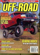Off-Road Magazine August 1996 Future Shocked! Flyin' 4x4s That Work!