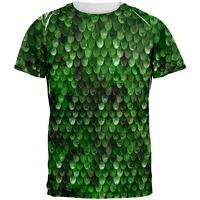 Halloween Wood Elf Scale Mail Armor Costume All Over Mens T Shirt
