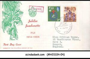 FIJI - 1964 JUBILEE JAMBOREE / BOY SCOUT - 2V - FDC