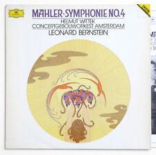 BERNSTEIN Gustav Mahler symphony 4 germany DGG 423607-1 DIGITAL LP EX+ PLAYS NM