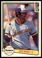 1982 Donruss Don Money Milwaukee Brewers #384