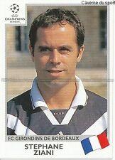 N°269 ZIANI GIRONDINS BORDEAUX UEFA CHAMPIONS LEAGUE 2000 STICKER PANINI