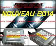 ★2014★ KIT XENON HID AMPOULE H7 AUDI A6 SERIE 2 2001-05 PACK TUNING CONVERSION