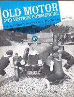 Old Motor + Vintage Commercial May 65 Vol 3 No 11 Clyno Bedford Car Rolls 20/25