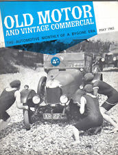 Old Motor + Vintage Commercial May 65 Vol 3 No 11 Clyno Bedford Car Rolls 20/25